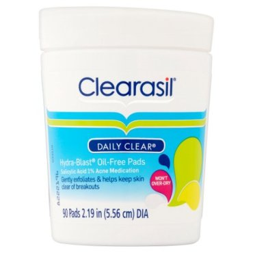 clearasil daily pads
